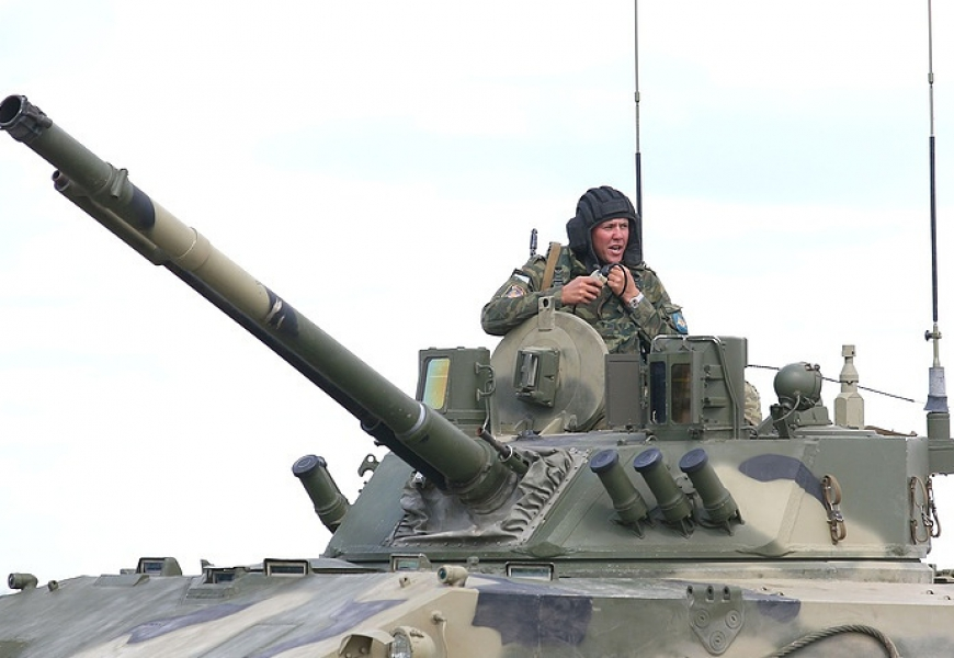 Russia's new self-propelled anti-tank gun to begin state