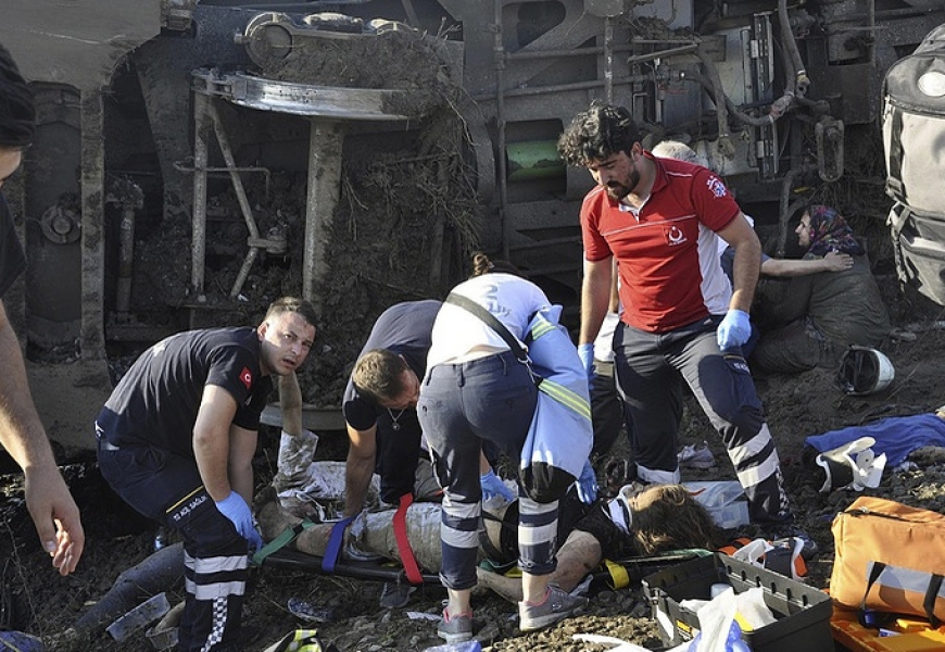 Death toll from passenger train crash in Turkey climbs to 24, over 300 injured