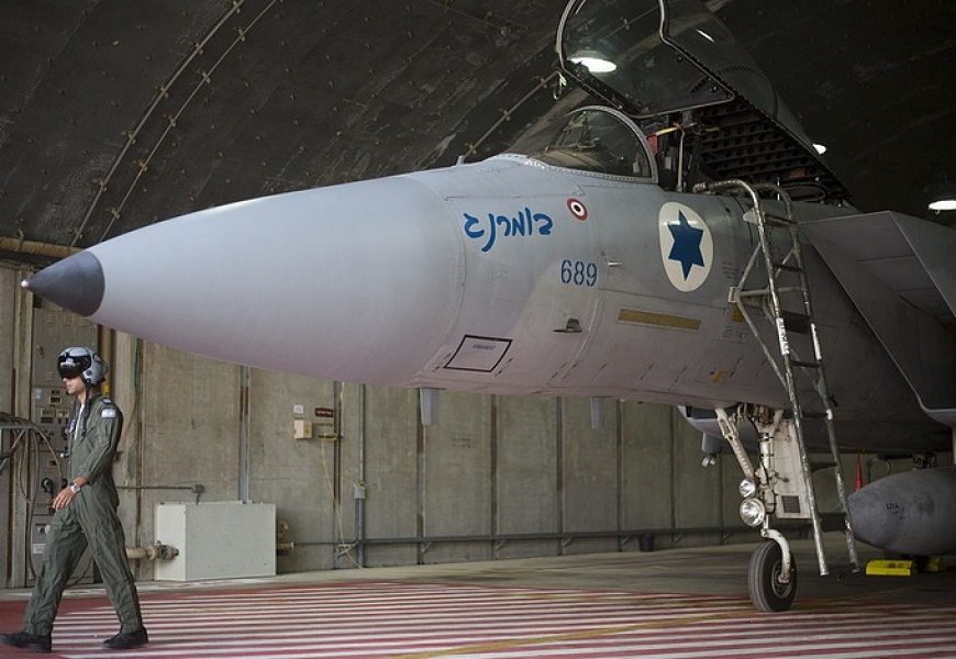Israel hits three military targets in Syria in response to UAV's infiltration