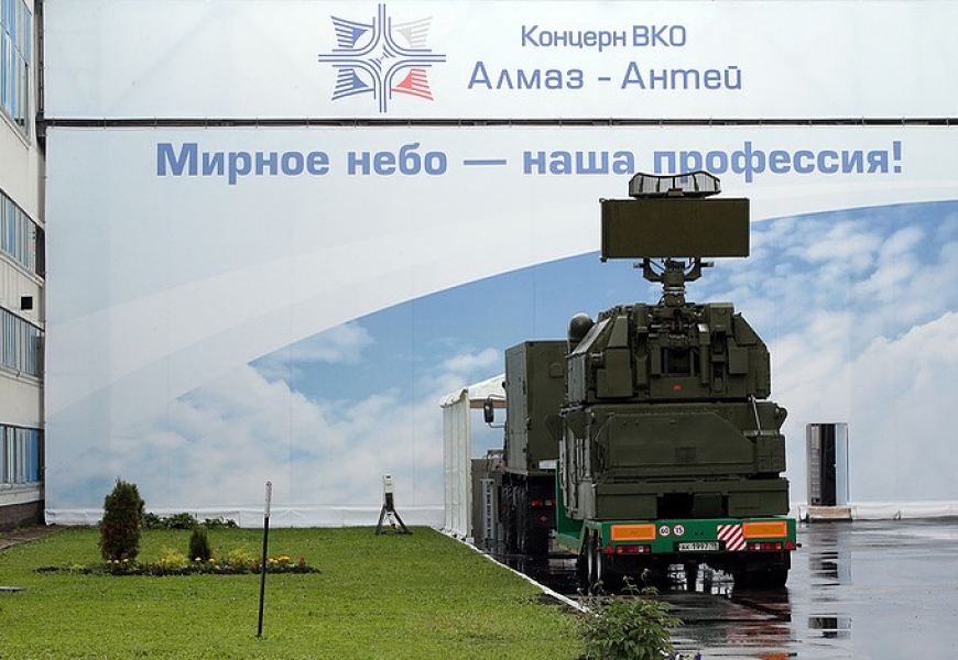 Russia's Almaz-Antey for first time joins ranks of top ten global defense companies